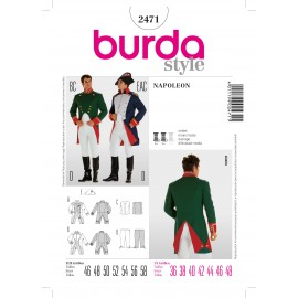 Napoleon Sewing Pattern Burda n°2471