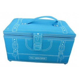 """Ma mercerie"" sewing-box - turquoise"