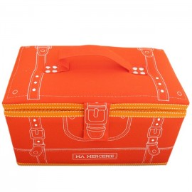 """Ma mercerie"" sewing-box - orange"