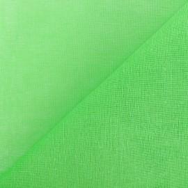 Tarlatane 100 % coton pistachio x 10cm