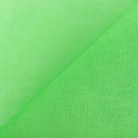 Tarlatan 100 % cotton - Pistachio x 10cm