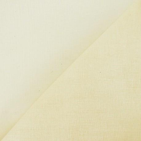 Tarlatan 100 % cotton - Natural x 10cm