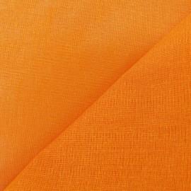 Tarlatane 100 % coton mandarine x 10cm