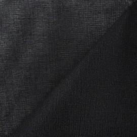 Tarlatane 100 % coton noir x 10cm