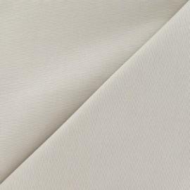 Tissu piqué de coton baby taupe clair x 10cm