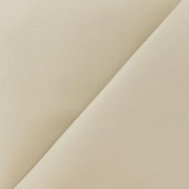 Simili cuir Nilo beige clair x 10cm