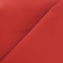 Simili cuir Nilo rouge x 10cm
