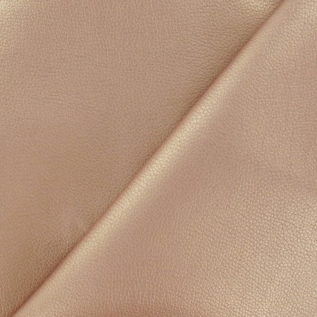 Simili cuir Nilo cuivre métallisé x 10cm