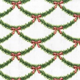 Tissu Candy Claus x 10cm