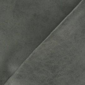 Cuir aspect vieilli Colorado ardoise x 10cm