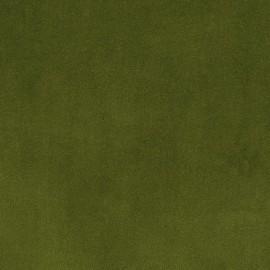 Tissu velours ras Tornado vert mousse x 10cm