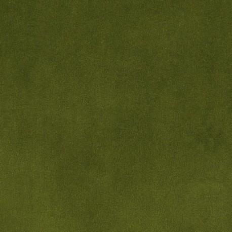 tissus pas cher tissu velours ras tornado vert mousse. Black Bedroom Furniture Sets. Home Design Ideas