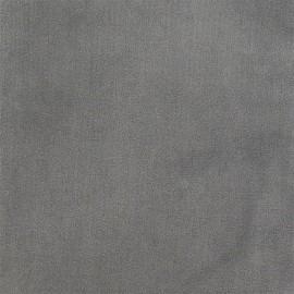 Tissu velours ras Tornado gris x 10cm