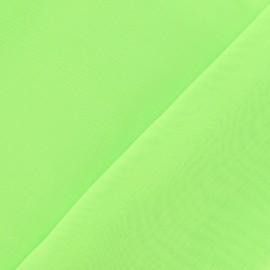 Tissu Mousseline vert fluo x 50 cm