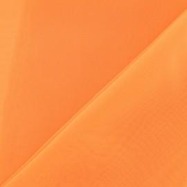 Tissu Mousseline orange fluo x 50 cm