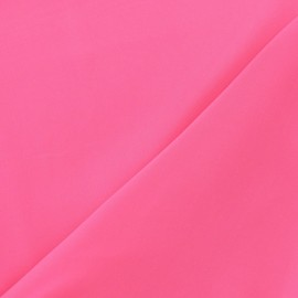 ♥ Coupon 230 cm X 145 cm ♥ Tissu Mousseline rose fluo