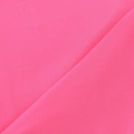 Tissu Mousseline rose fluo x 50 cm