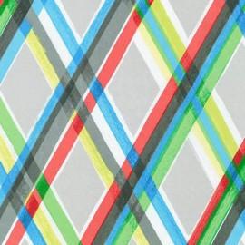 Tissu Color: Full Losange Multi x 10cm