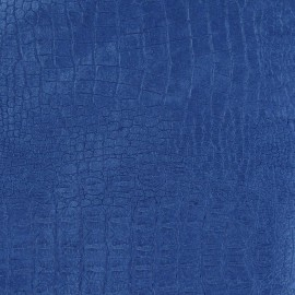 Tissu velours ras Fauna Léopard bleu x 10cm