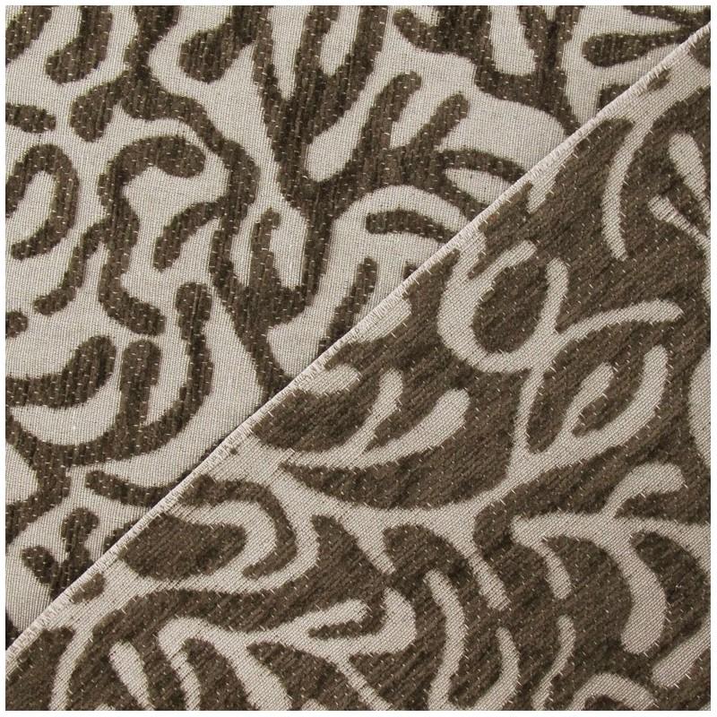 tissu velours ras broni marron x 10cm ma petite mercerie. Black Bedroom Furniture Sets. Home Design Ideas