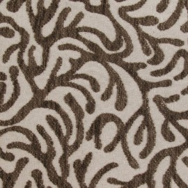 Short velvet fabric – Broni brown x 10cm