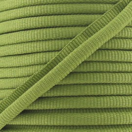 Flange Insertion Piping Cord - olive green