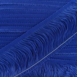 Franges Charleston bleu roy 10cm x 50cm