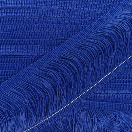 Charleston fringe 10cm x 50cm - royal blue
