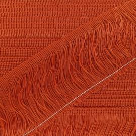 Franges Charleston orange 10cm x 50cm