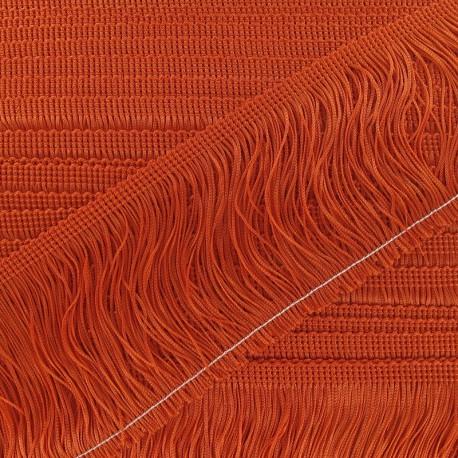 Frange Charleston 100 mm orange x 50cm