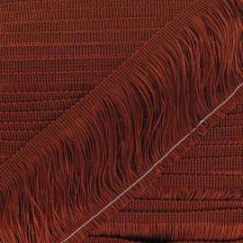 Franges Charleston cuivre 10cm x 50cm