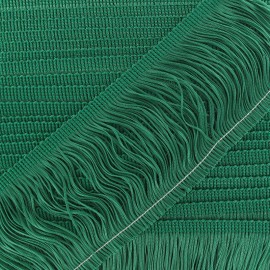 Charleston fringe 10cm x 50cm - meadow green