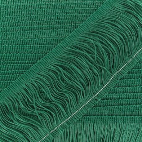 Frange Charleston 100 mm vert prairie x 50cm