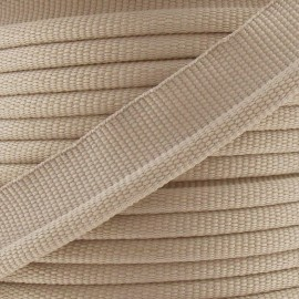 Flange Insertion Piping Cord - taupe