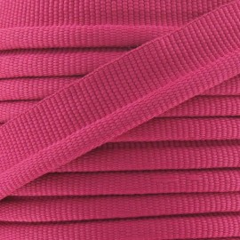 Flange Insertion Piping Cord - fuchsia