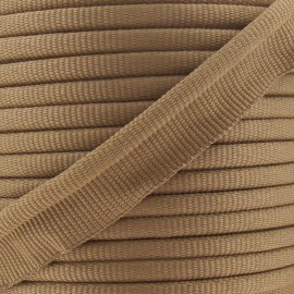 Flange Insertion Piping Cord - light brown
