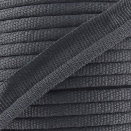 Flange Insertion Piping Cord - anthracite grey