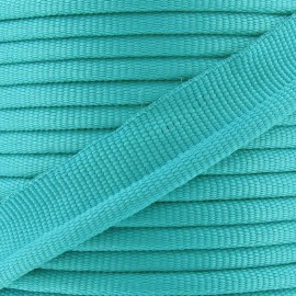 Flange Insertion Piping Cord - turquoise