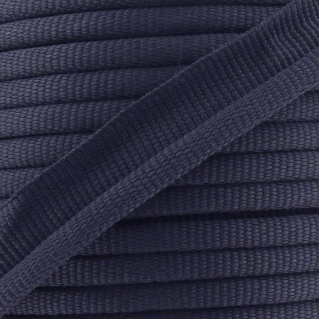 Flange Insertion Piping Cord - navy blue