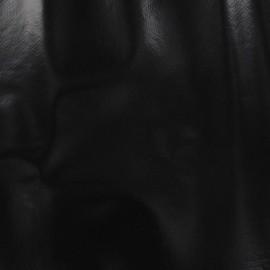 Tissu toile cirée Kitchen noir x 10cm