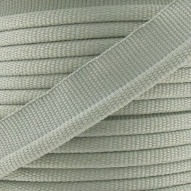 Flange Insertion Piping Cord - ash grey