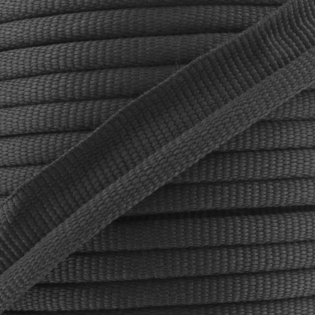 Flange Insertion Piping Cord - black