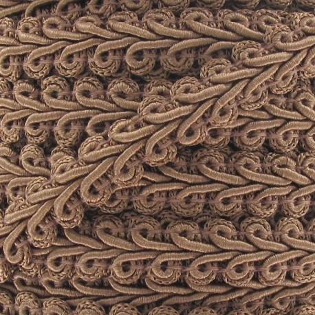 Galon Épi de blé vieux rose 12mm  x 1m
