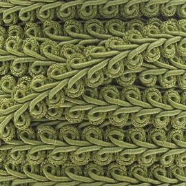 Galon Épi de blé vert olive 12mm  x 1m