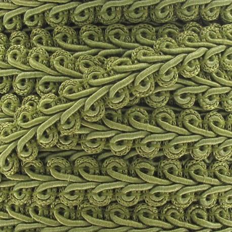 Galon Épi de blé vieux brun 12mm  x 1m