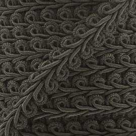 Galon Épi de blé Gris Anthracite 12mm  x 1m