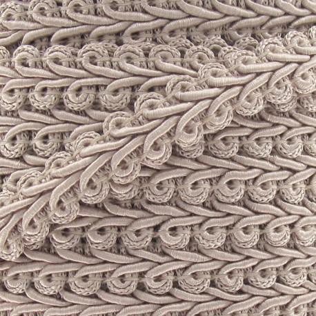 Galon Épi de blé Blanc 12mm  x 1m