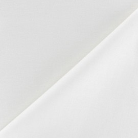 Tissu coton uni Reverie grande largeur (280 cm) - blanc x 10cm