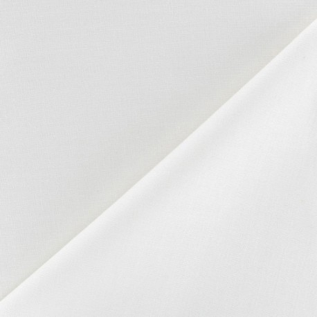 tissu oeko tex coton uni reverie grande largeur 280 cm blanc x 10cm ma petite mercerie. Black Bedroom Furniture Sets. Home Design Ideas