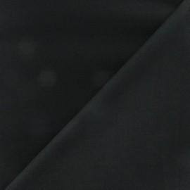 Tissu coton uni Reverie grande largeur (280 cm) - noir x 10cm